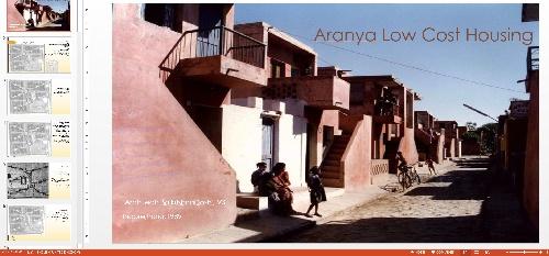 1963216 بررسی و تحلیل بعد فرهنگی اجتماعی اقتصادی و معماری مجموعه مسکونی Aranya Low Cost Housing در هند